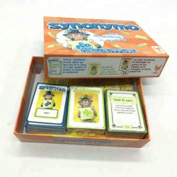 Venda por grosso de jogos de tabuleiro de design personalizado imprimindo