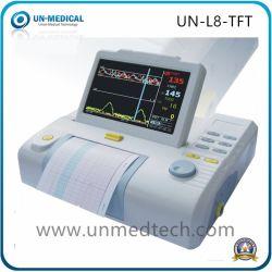 Cuidado Fetal económica 7 pulgadas TFT Monitor materno plegable