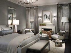 Tapizados Padauk neoclásico Dormitorio Principal dormitorio secundario mobiliario del Hotel de Turismo