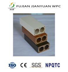 Qualität ASA-PVC Co-Verdrängte WPC Bambuszusammengesetzter Garten-Plastikzaun