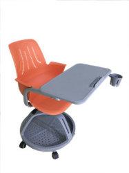 Bureau&Réunion Président interactive avec les roues, Président de la conférence avec comité de rédaction de l'école, chaise pliante avec un ordinateur portable Pad; rédaction d'un fauteuil avec les détenteurs de tablette