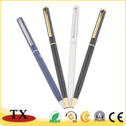 Boa qualidade de luxo toque personalizado a esfera do Mecanismo de metal para presente de promoção de canetas de feltro