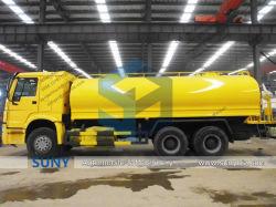 Сино HOWO 20000 литров тяжёлых специальных воды в автоцистернах 6X4 соблазнительные Тележки транспортные распыления резервуар для воды Bowser погрузчика