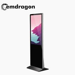 Горячие продажи прямой регистрации цен на заводе Ad плеера телевизор с плоским экраном для рекламы ПК 43-дюймовый сенсорный экран напольная стойка Digital Signage