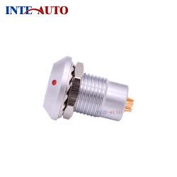 Фиксированные гнездо гайки крепления водонепроницаемыми или вакуум-вплотную контакт разъема INT-HGG. 0B. 309. CLLP