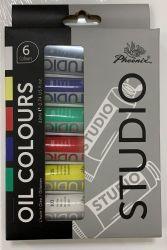 Studio 22ml Cores Tubo de alumínio de pintura de Arte Aluno Óleo Definido