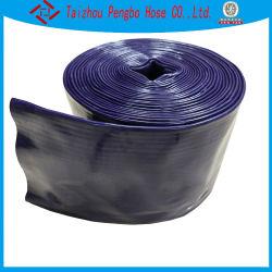 Flexible d'irrigation en PVC noir Tuyau Layflat du tube en plastique