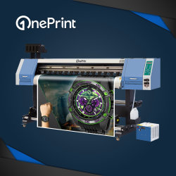 Rullo di Oneprint 1.6m 1.8m 3.2m per rotolare grande stampante UV UV-1600 UV-1800 UV-3200 con la testina di stampa di Dx5 Dx7 XP600 Tx800