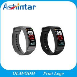 心拍数の血圧のモニタのスマートな腕時計が付いているスポーツのブレスレットのBluetoothのヘッドセット