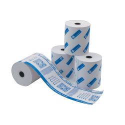 Rotolo di carta termica 57X38mm 57X50mm carte rotabili personalizzate stampate