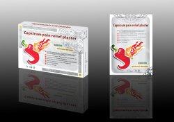 Cuidado de la Salud aliviar el dolor muscular tensión lumbar Capsicum yeso adhesivo
