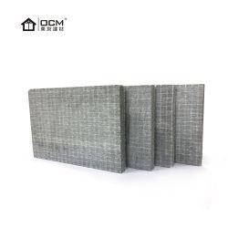 防水建築材料は2つの層網が付いている灰色のセメントのボードを耐火性にする