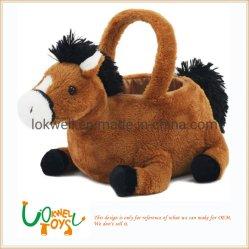 Cesta de doces Cavalo de pelúcia brinquedo Dom programável de Páscoa Fabricante