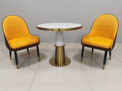 23 24 Polegadas mesa de café Presidente Definir Alemanha Restaurante Cátedra Booth assentos móveis comerciais