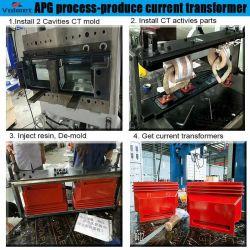 China casquillo automático de alta corriente APG fundición de caucho de silicona Máquina (máquina de sujeción APG)