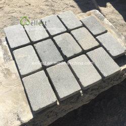 Entrada de basalto gris Sandblasted Adoquines con Micro agujeros