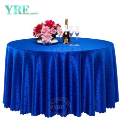 Yrf White Lace Met Flower Round Wedding Table Cover