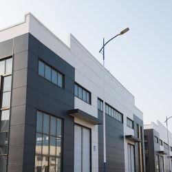 Niedrige Kosten-vorfabriziertes Haus und Wand-Produkt-Stahlkonstruktion