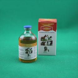 droghe della farmacia dell'iniezione dell'HCl dell'ossitetraciclina dei prodotti dell'animale domestico 100ml
