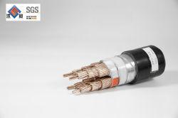 Niederspannungs-flexibles vieladriges 4 Kern 2.5mm2 flaches Energien-Kabel der Belüftung-Hüllen-H07vvh6-F