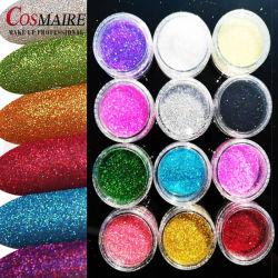 Usine Glitter cosmétique en gros les poudres pour la décoration d'ongles