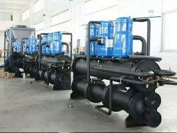 R410A/R407c/R134A Wassergekühlter Scroll Modularer Kältemaschine und Prozessindustrieller Kältemaschine/35-Tonnen-Kühlaggregat für Luftlösungen/Kühlsysteme