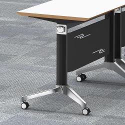 Высокое качество управления простой комбинацией Fan-Shaped Совещания Стол складной стол профессиональной подготовки