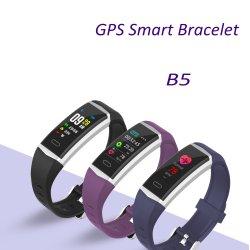 Cómodo Reloj inteligente de carga USB teléfono con gps la frecuencia cardiaca de la presión arterial de protección IP68 Resistente al agua Reloj Bluetooth
