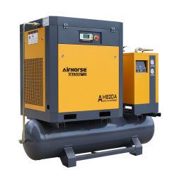 Compresseur de la qualité de Nice Stable 15kw 20HP d'un réfrigérateur compact de l'air rotatifs à vis du compresseur électrique récepteur sécheur