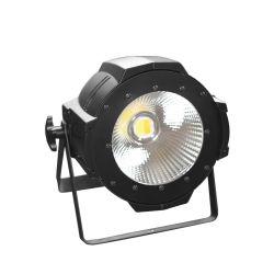 プロフェッショナル・ステージ・ライティング DMX 512 コントロール 100 W ウォーム・ホワイト COB LED PAR ライト