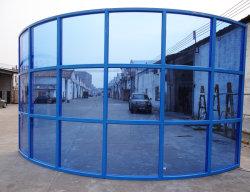 Großes Aluminium Rund Feststehendes Glas Windows Guangzhou Factory China