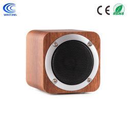 Retro altoparlante di legno con FM, micro scheda 8hout di Bluetooth di deviazione standard del USB che gioca tempo