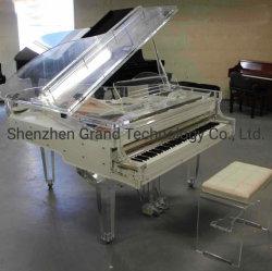 2019 Comercio al por mayor nuevo Cristal Rosa Grand Piano (GP152A)