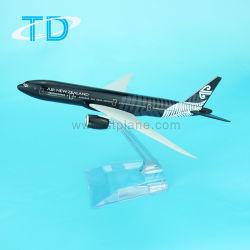 B777 -300 1/400 modelo de avión de metal con logo de Air New Zealand