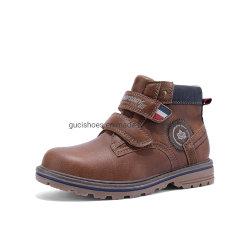 2020 de Laarzen van de Klitband van de Laarzen van de Cognac van de Laarzen van de Jongen van de Laars van de superieure Kwaliteit