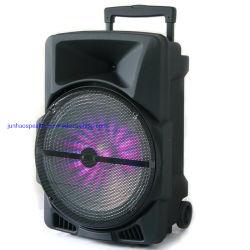 휴대용 LED 건전지 트롤리 증폭기 메가 힘 소형 무선 마이크 MP3 선수 Bluetooth 오디오 시끄러운 스피커 옥외 당 음악