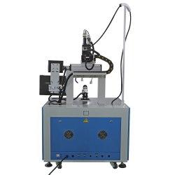 Macchina di saldatura del laser del laser di asse di fibra ottica automatico della saldatrice 3 su metallo