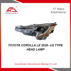 Seveneader Auto Car света фар для Toyota Corolla Le 2020- нам типа