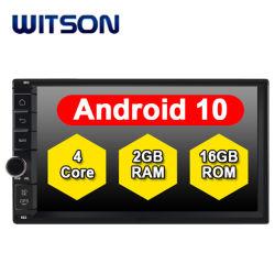 Promoção Witson Android Quad-Core 10 aluguer de DVD para DVD DIN Duplo Universal 2GB de RAM