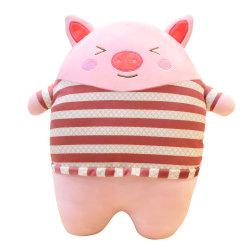 Custom cute baby des jouets en peluche cochon en peluche farcies
