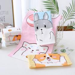 Baumwolle Kinder Gesicht Handtuch aus reiner Baumwolle saugfähig weich Haushalt Baby Schöner Kleiner Platz