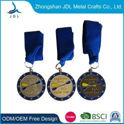 Hot Sale Custom Wholesale 저가 3D Bronze Metal Craft Zinc Alloy Gold Metal Marathon Running Souvenir Award 스포츠 Medal as Promotion Gift (049)