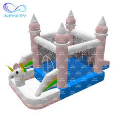 Bon prix Jumping Château Unicorn Bounce House Home gonflables pour la vente