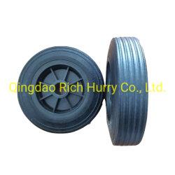 6 rotella solida di gomma di pollice 6*2 per Handtruck o la carriola