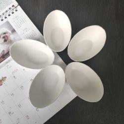Formato de ovo mini-placas de molho descartáveis de celulose para sobremesa