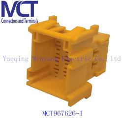 Connettore maschio automatico alternato 1-967626-1 dell'alloggiamento dello zoccolo del cablaggio di collegamenti di Tyco