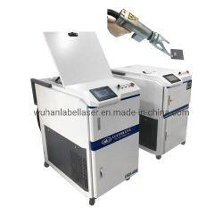 Portable 100W/200W/300W/500W Machine de nettoyage au laser de l'acier Fabricant de moule Enlèvement de la rouille