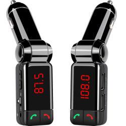 Reproductor de mp3 coche receptor Bluetooth el transmisor de FM Wireless USB Car Charger Kit con USB Cargador de coche