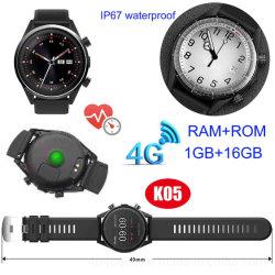 Imperméable IP67 mobile 4G Hot vendre Smart montre avec moniteur de fréquence cardiaque K05