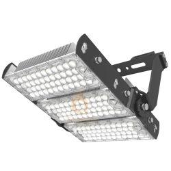 160lm/W resistente al agua IP65 Alta potencia 300W de alto mástil inundan de luz LED de túnel para Piscina Cancha de tenis Polo alta iluminación del estadio